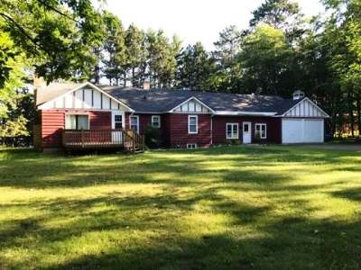 Forest County, Iron Wi County, Langlade County, Lincoln County, Oneida County, Vilas County Single Family Home For Sale: 1001 Walnut St
