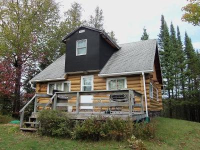 Forest County, Iron Wi County, Langlade County, Lincoln County, Oneida County, Vilas County Single Family Home For Sale: 8389n North End Rd