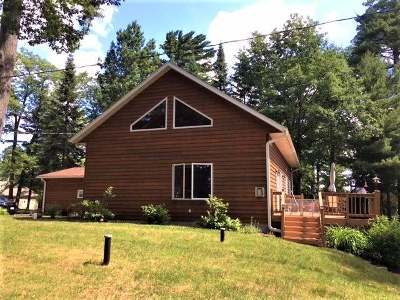 Three Lakes WI Single Family Home For Sale: $319,000