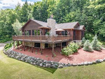 Minocqua WI Single Family Home For Sale: $529,000