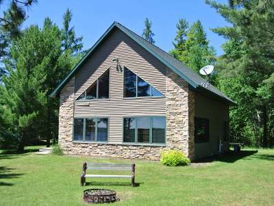 Three Lakes Single Family Home For Sale: 1079 Big Lake Loop Rd N