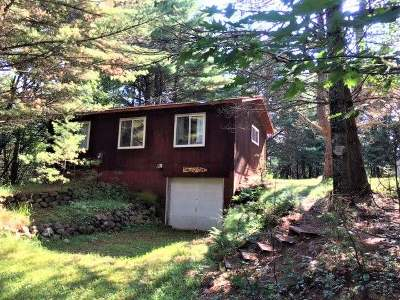 Three Lakes WI Single Family Home For Sale: $120,000