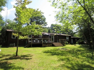 Forest County, Iron Wi County, Langlade County, Lincoln County, Oneida County, Vilas County Single Family Home For Sale: 7027 Rapids Rd
