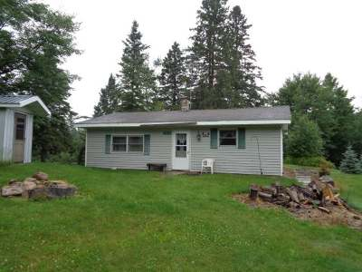 Minocqua Single Family Home For Sale: 14212 Price County Rd