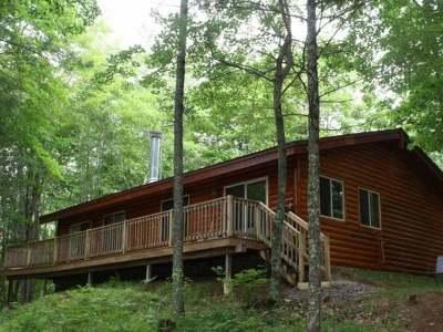 Lac Du Flambeau Single Family Home For Sale: 14621 Misty Pines Ln
