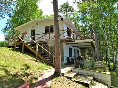 Minocqua Single Family Home For Sale: 6289 Bear Lake Rd