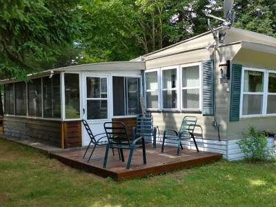 Forest County, Iron Wi County, Langlade County, Lincoln County, Oneida County, Vilas County Single Family Home For Sale: 6888 Helen Creek Rd #4