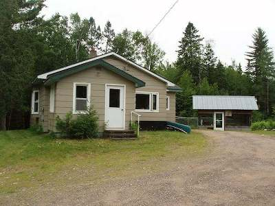 Fifield Single Family Home For Sale: N13605 Hwy 13