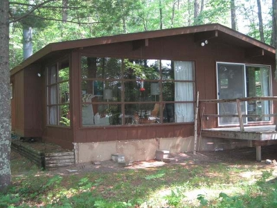 Forest County, Iron Wi County, Langlade County, Lincoln County, Oneida County, Vilas County Single Family Home For Sale: 13873 Blue Goose Dr
