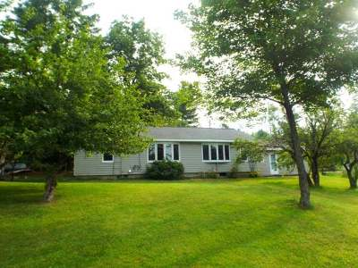 Deerbrook Single Family Home For Sale: W11123 Snag Rd