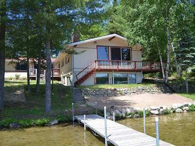 Eagle River Single Family Home For Sale: 1542 Bass Lake Rd W