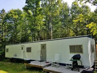 Tomahawk Single Family Home For Sale: W7587 Coffee Creek Rd