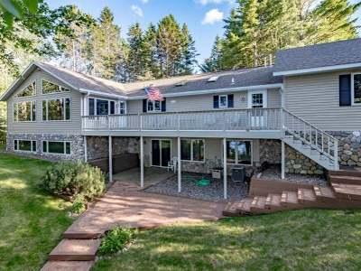 Lac Du Flambeau Single Family Home For Sale: 1036 Pickerel Ct