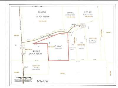 Elcho Residential Lots & Land Active O/C: W10459 Colleen Ln