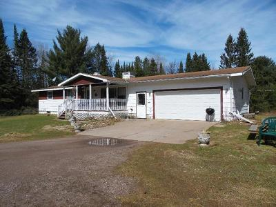 Tomahawk Single Family Home For Sale: N9398 Hoffman Rd #80 Acres