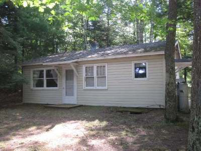 Forest County, Iron Wi County, Langlade County, Lincoln County, Oneida County, Vilas County Single Family Home For Sale: 7285 Bluegill Lake Rd