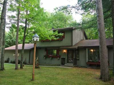 Minocqua Single Family Home For Sale: 8618 Timbergate Cr