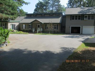 Three Lakes Single Family Home For Sale: 1335 Pine Isle Rd