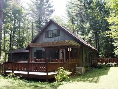 Minocqua Single Family Home For Sale: 7444 Trailwood Dr