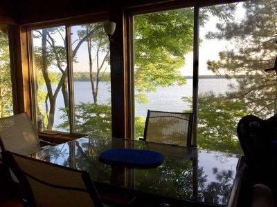 Minocqua Single Family Home For Sale: 8200 38 Carter Rd