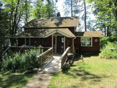 Minocqua Single Family Home For Sale: 11125 Kilawee Rd