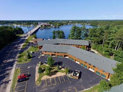 Minocqua Condo/Townhouse For Sale: 8270 Hwy 51 #5B