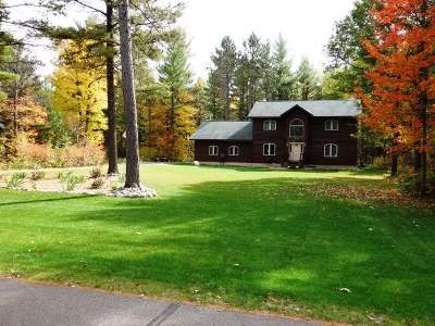 Minocqua Single Family Home For Sale: 10963 Duvall Ct