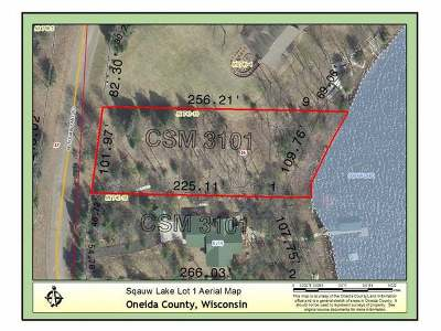 Minocqua WI Residential Lots & Land For Sale: $135,000