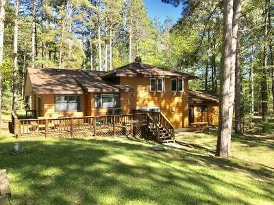 Three Lakes Single Family Home For Sale: 1845 Meta Lake Rd