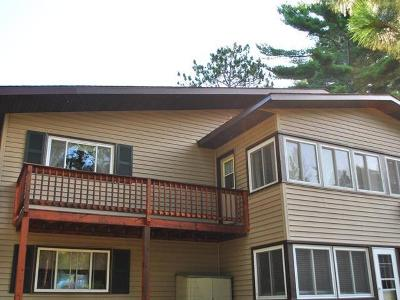Forest County, Iron Wi County, Langlade County, Lincoln County, Oneida County, Vilas County Condo/Townhouse For Sale: 1727 Summer Dr #D