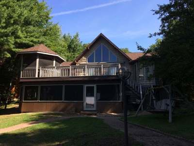 Pelican Lake Single Family Home For Sale: 1004 Chicago Point Rd
