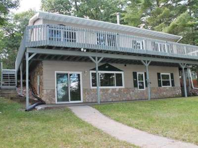 Minocqua Single Family Home Active O/C: 8378 Camp Pinemere Rd