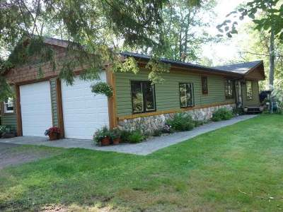 Lake Tomahawk Single Family Home Active O/C: 8605 Tappa Win Dr