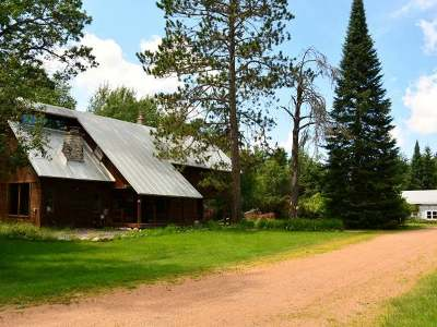 Minocqua Single Family Home For Sale: 9978 Blue Lake Rd