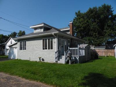 Tomahawk Single Family Home For Sale: 215 6th St N