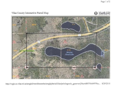Lac Du Flambeau WI Residential Lots & Land For Sale: $299,900