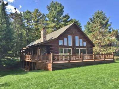 Minocqua Single Family Home For Sale: 7512 Trailwood Dr