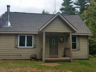 Minocqua Single Family Home For Sale: 12766 Duner Point Ln