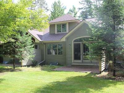Minocqua Condo/Townhouse For Sale: 8767 Brunswick Rd #5C