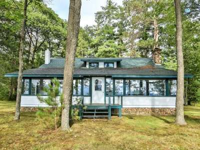 Lac Du Flambeau WI Single Family Home For Sale: $728,700