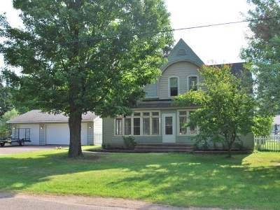Crandon Single Family Home For Sale: 407 S Central Ave