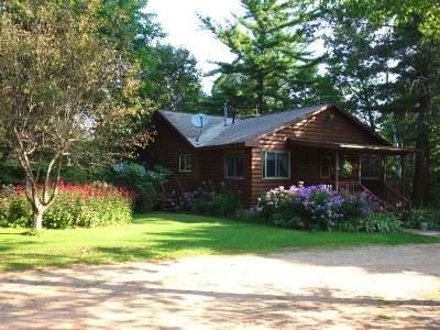 Minocqua Single Family Home For Sale: 8720 Jeanie Ln