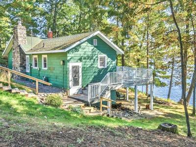 Minocqua Single Family Home Active O/C: 729 Cedar St