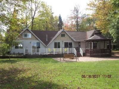 Pickerel Single Family Home For Sale: 7925 Lily River Ln