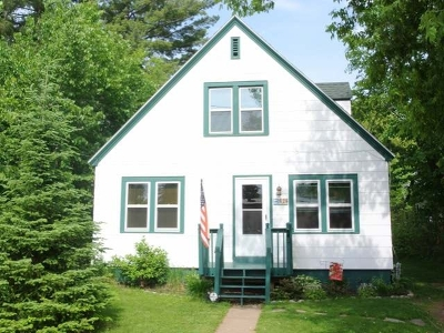 Minocqua Single Family Home For Sale: 424 Menominee St