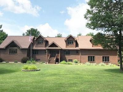 Minocqua WI Single Family Home For Sale: $599,000