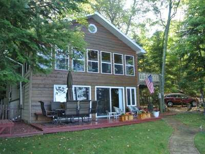 Three Lakes WI Single Family Home For Sale: $475,000