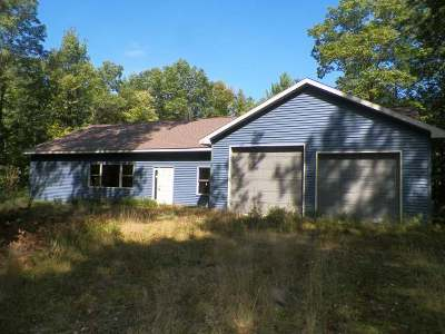 Minocqua Single Family Home For Sale: 9340 Dahlia Dr