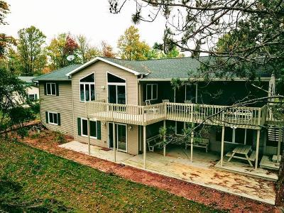 Tomahawk, Tripoli, Gleason, Rib Lake, Ogema, Brantwood Single Family Home For Sale: 4833 Soaring Eagle Shrs
