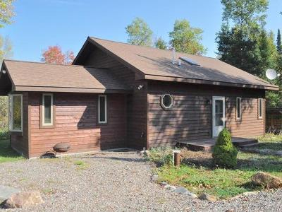 Forest County, Iron Wi County, Langlade County, Lincoln County, Oneida County, Vilas County Single Family Home For Sale: 15550 Thrasher Rd